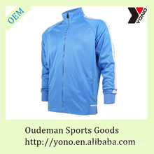 Latest design zipper team tracksuit for soccer training